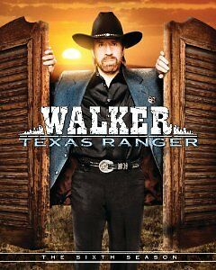 Walker, Texas Ranger - The Complete Sixth Season New DVD! Ships Fast!
