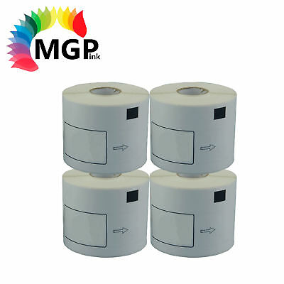 4 Compatible for Brother DK22205 Refill only Label 62mm x 30.45m QL500/550 QL700