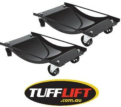 Wheel Dollies Vehicle Dollies (Pair) 1000lb/ 453 Kg TL-XH2201 Tufflift Brand New