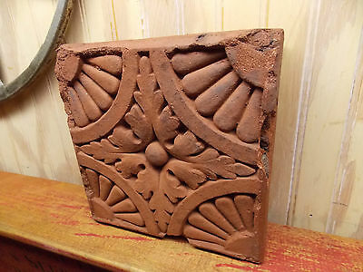 Antique architectural building brick ornate salvage block
