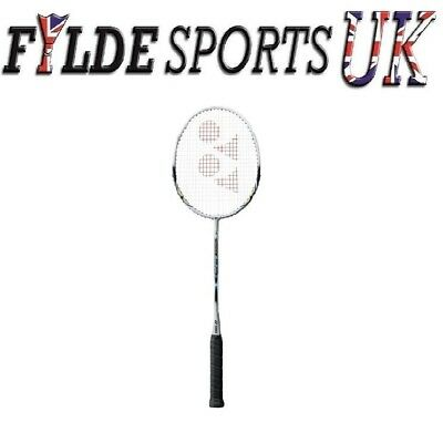 Yonex Muscle Power 3 MP3 Badminton Racket White Grey Strung - CLEARANCE