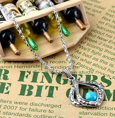 New Classical Natural hot resin cute tibet silver Necklace+Pendant H-1620
