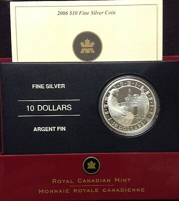 2006 Canada $10 Fine Silver Coin - Fortress of Louisbourg