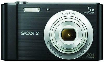 Sony Cyber-shot 20.1MP Camera - Black DSCW800B