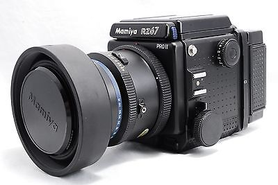 EXC Mamiya RZ67 Pro II with SEKOR Z 180mm 1:4.5 W 120 HOLDER FROM JAPAN 348