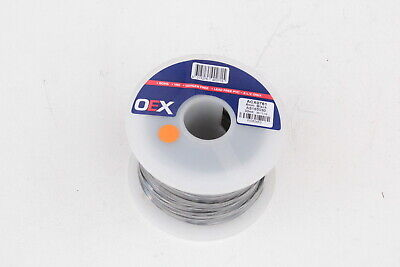 OEX ACX0761 BLACK 6mm SINGLE CORE CABLE 50 AMP WIRE 30m ROLL