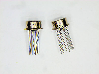 MC1741G  Motorola  8P CAN TO-5 case style  IC  2  pcs