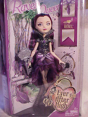 Ever After High Raven  Rebel Doll new Daughter of the Queen Girls toy 11 inch