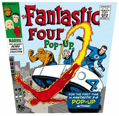 The Fantastic Four Pop-Up: Marvel True Believers Retro Coll..., Caroline Repchuk