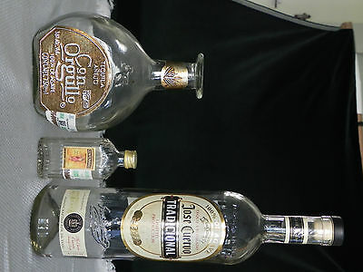 THREE BOTTLES OF TEQUILA
