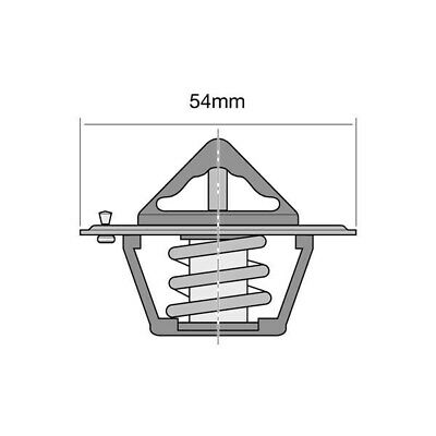 Tridon Thermostat 71°C Suit Ford 302 351 Cleveland ( Check Application Guide )