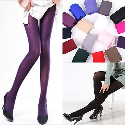 Sexy Women 120D Velvet Footed Tights Stretchy Opaque Pantyhose Stockings Socks