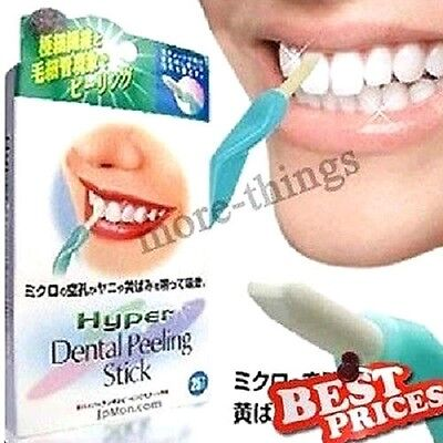 NEW dents Blanchiment dentaire bâton Stain Eraser Removal + 25 Pcs Eraser