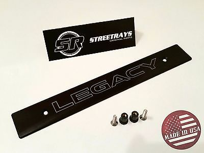 [StreetRays] Front License Plate Delete with [LEGACY] Laser Engraved Logo