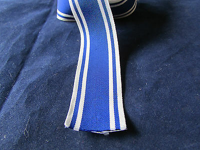 Police Long service  medal - Ribbon 6 inches (150mm) long