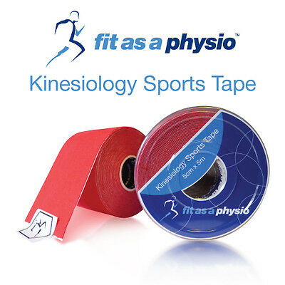 Kinesiology Sports Tape -1 Red Roll