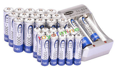 16 16 AA AAA NiMH rechargeable Chargeur de batterie VENTE