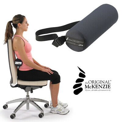 Original McKenzie Early Compliance Lumbar Roll Lower Back Pain Chair Support
