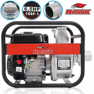 "196cc 3"" 80mm 1100l/min 6.5HP PETROL ENGINE FLOOD CELLAR WATER DRAINAGE PUMP"