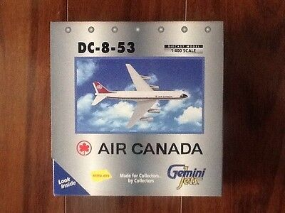 GEMINI JETS 1/400 AIR CANADA DC-8-53 PLANE  # 70092 BRAND NEW
