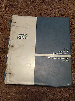 King Bendix KR 86 ADF Automatic Direction Finder Service Manual Installation