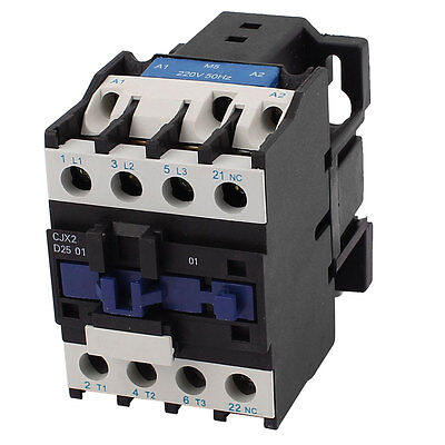CJX2-25/01 220V 40A 11 Screw Terminals 3 Phases AC Coil Power Contactor
