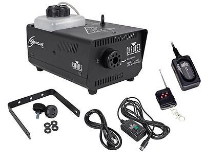Chauvet DJ Hurricane 901 H901 Compact Fog Machine +FC-W Wireless Remote Included