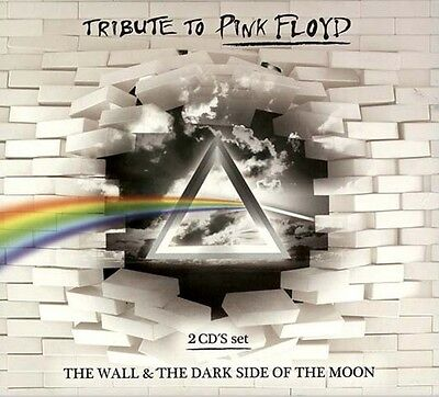 TRIBUTE TO PINK FLOYD THE WALL + THE DARK SIDE OF THE MOON SEALED 2 CD SET