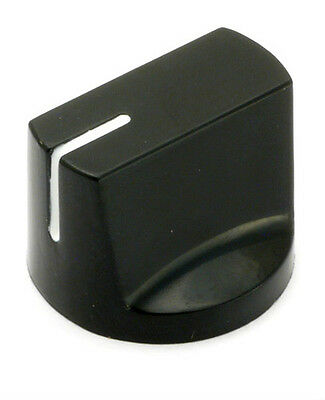 Davies 1510 Clone Black Knob (2 PCS) High Quality! USA Seller!!!