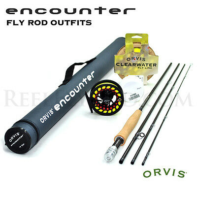 """NEW - Orvis Encounter 5-weight 8'6"""" Fly Rod Outfit - Free Shipping"""