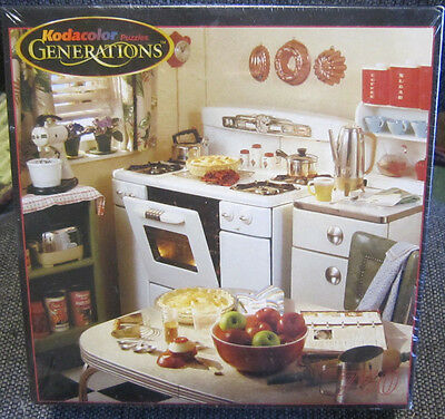Kodacolor Generations 750 Piece Jigsaw Puzzle 1950 Kitchen New Sealed