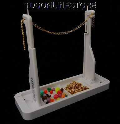 Bead Buddy Collapsible Chain Station With Built In Ruler And Storage