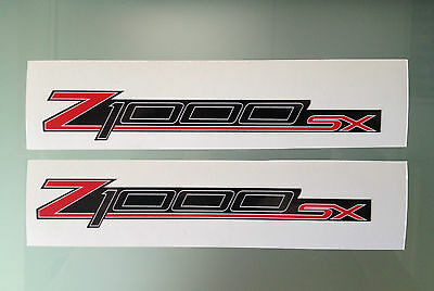 Z1000SX Fairing Decals / Stickers (Any Colour)