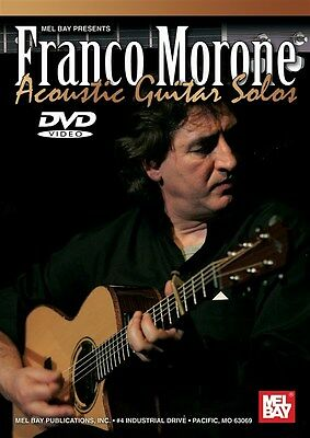Franco Morone:  Acoustic Guitar Solos Gitarre DVD (Region 0)