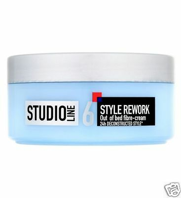L'oreal Studio Line Style Rework Out of Bed Fibre-Cream Deconstructed Style150ml