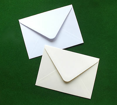 C7 White Ivory Envelopes for A7 Cards 100gsm Diamond Flap RSVP Save the Date
