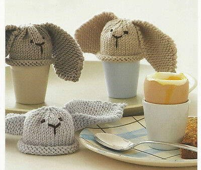 Knitted Chick Egg Cosy Pattern : FREE BUNNY EGG COSY KNITTING PATTERN - VERY SIMPLE FREE KNITTING PATTERNS