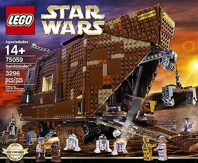 NEW & SEALED! LEGO Star Wars 75059 Sandcrawler with 3,296 Pieces