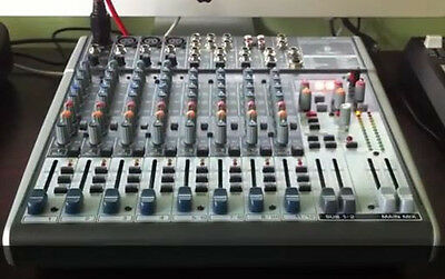 Behringer XENYX X1622USB Premium 16-Input 2/2-Bus Mixer w/ Mic Preamps & Compres