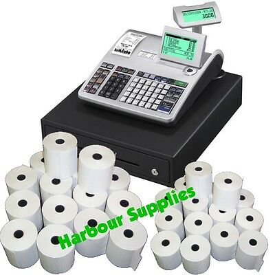 TILL ROLLS TO FIT - Casio SE-S3000 SES3000 SE-53000 SE53000 SES-3000