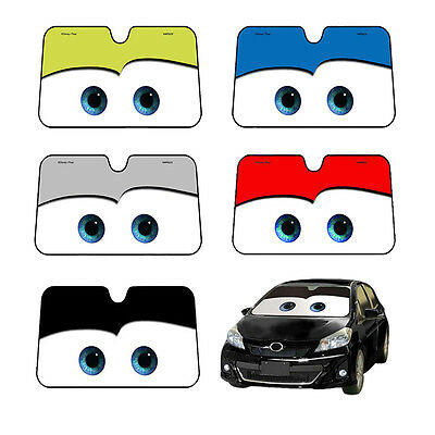 Disney Pixar Cars Lightning McQueen Front Windshield Sunshade 130x70cm 5 Colors