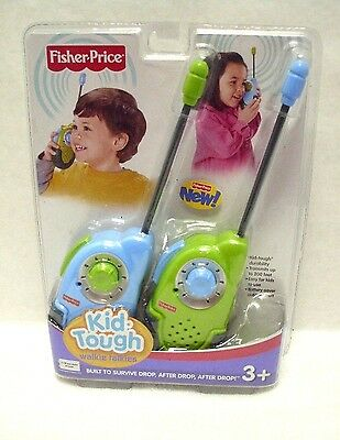 Fisher-Price Kid-Tough Walkie Talkies ~NEW~SEALED~