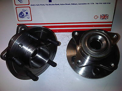 LAND ROVER DISCOVERY 3 & 4 + RANGE ROVER SPORT 2x NEW FRONT WHEEL BEARINGS /HUBS