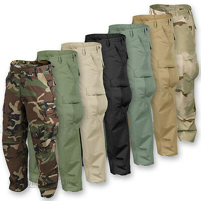 Helikon Army Bdu Combat Trousers Cargo Pants Battle Uniform Military