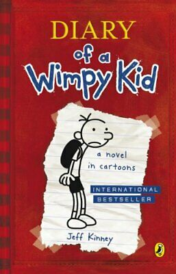 Diary of a Wimpy Kid (Book 1) by Jeff Kinney Paperback Book The Cheap Fast Free
