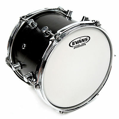 "Evans Genera G2 Coated Tom/Snare Heads - 6"" - 16"",  Free Express Delivery"