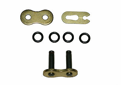 Rear chain split (connecting) link 525 TVH heavy duty 'O' ring gold
