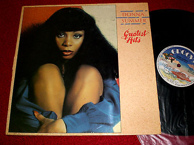 LP Donna Summer Greatest Hits / 1977 Groovy GRL 25029