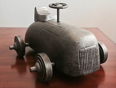 1930'S STYLE RACE CARE MODEL REPLICA FAUX ANTIQUE ALUMINUM FREE SHIPPING