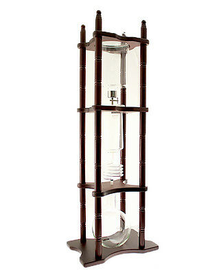 Tiamo HG2650 Cold Drip Coffee Maker 25 cups Dark Brown Wood for Commercial use